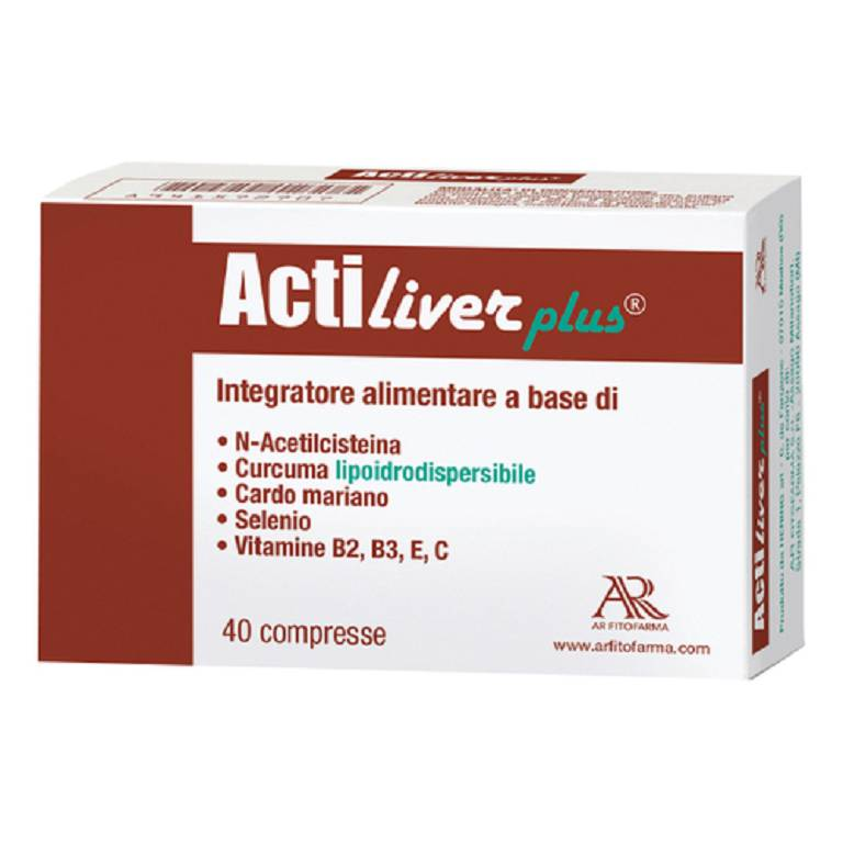 ACTILIVER PLUS 40CPR