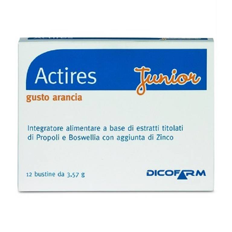ACTIRES Junior 12 bustine