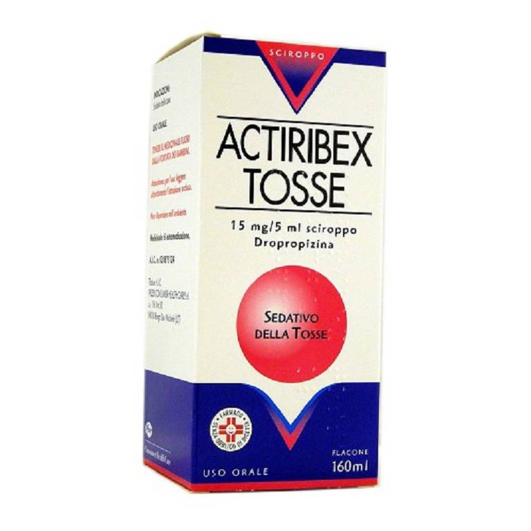 ACTIRIBEX TOSSE*SCIR 160ML0,3%