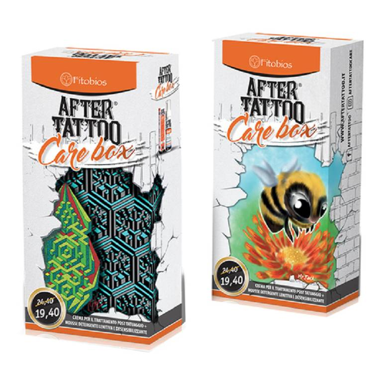 AFTERTATTOO CARE BOX CR+MOUSSE