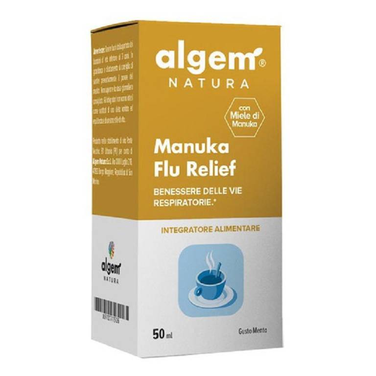 ALGEM MANUKA FLU RELIEF 50ML