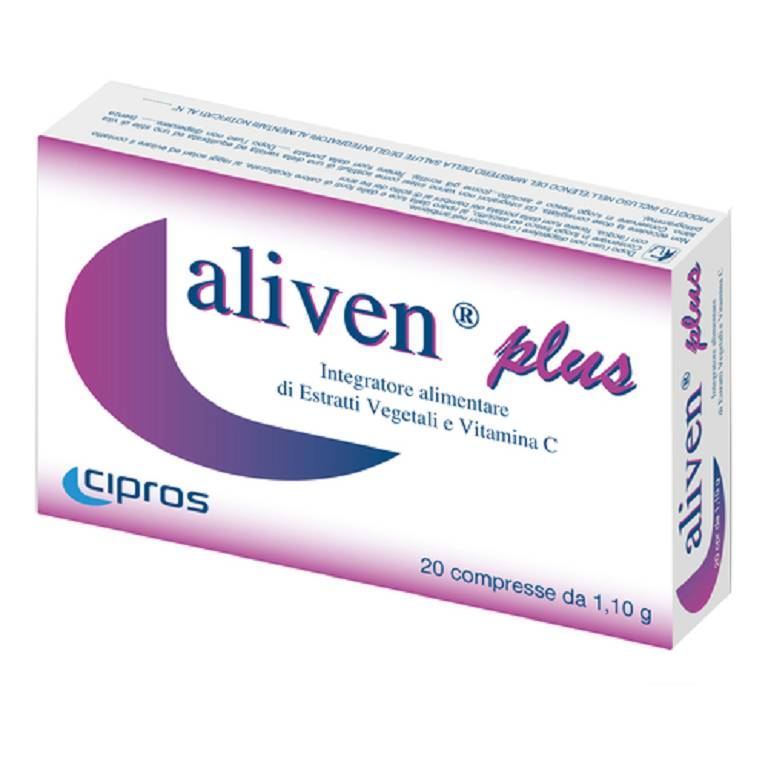 ALIVEN PLUS 20CPR