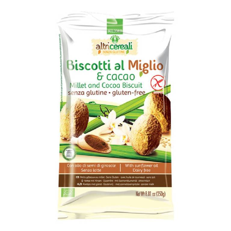 ALTRICEREALI BISC MIGLIO/CACAO