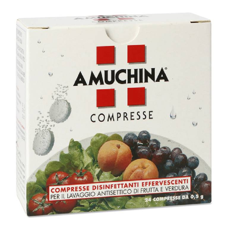 AMUCHINA COMPRESSE 1G 24PZ