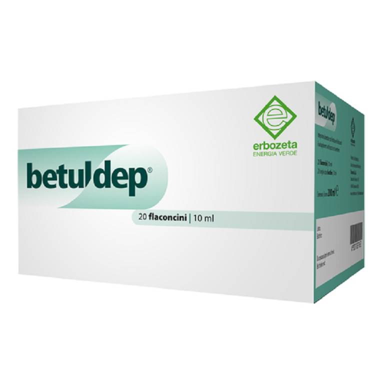 Betuldep integratore 10 ml 20 fiale