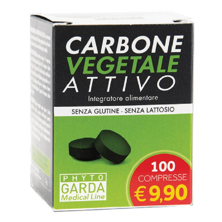 CARBONE VEGETALE ATTIVO 100CPR