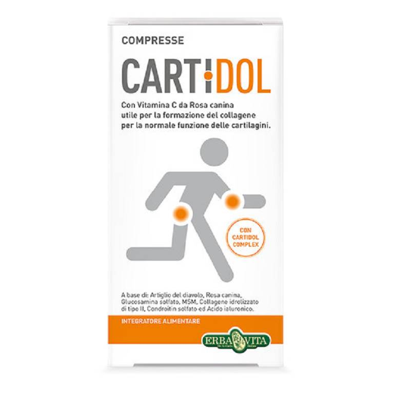 CARTIDOL COMPRESSE 45CPR