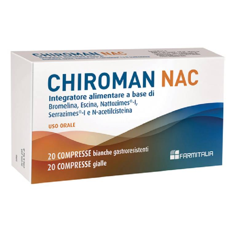 CHIROMAN NAC 20CPR+20CPR