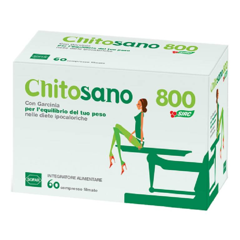 CHITOSANO 800 CM 60CPR 48G