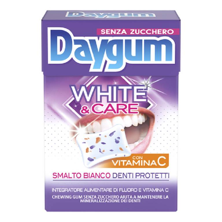 DAYGUM WHITE CARE X20