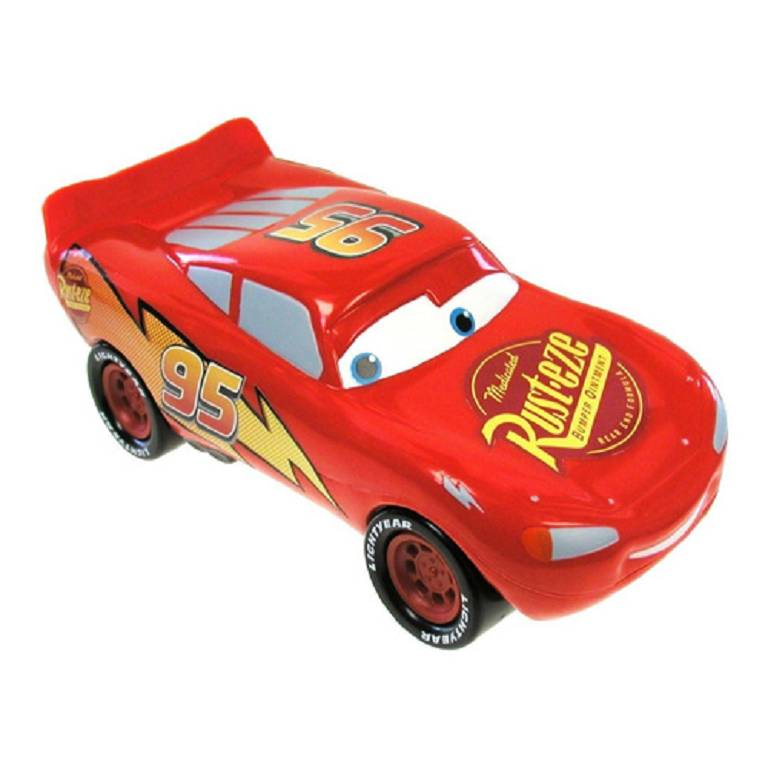 DISNEY CARS BATH FOAM MCQUEEN