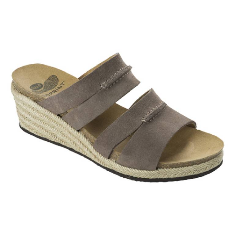 FILIA SUEDE W DK TAUPE 42