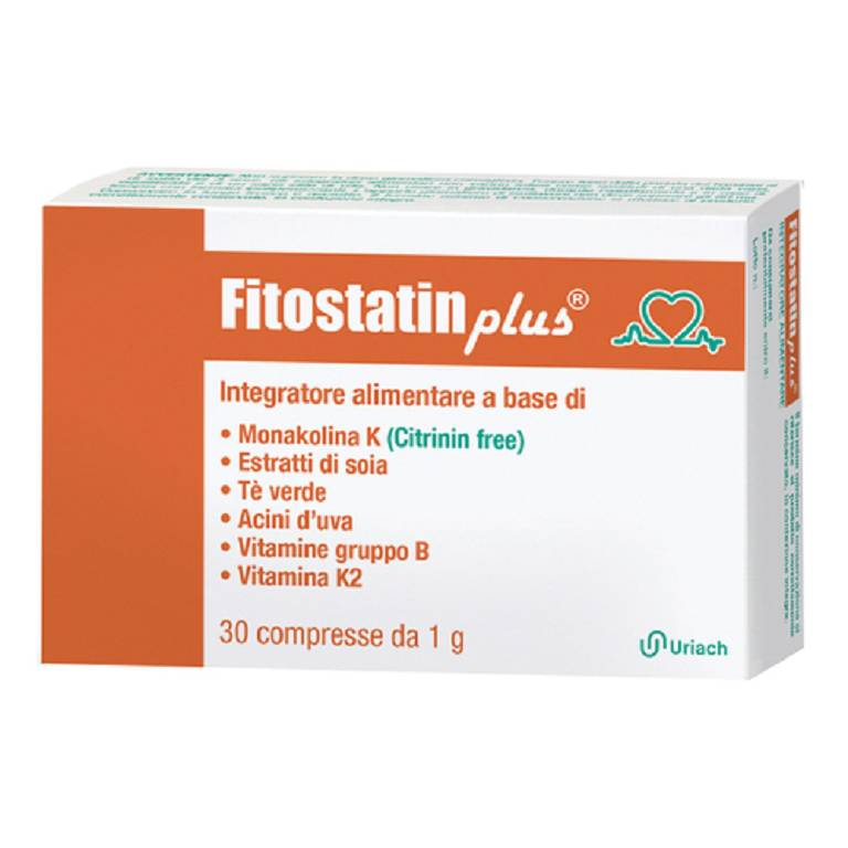 FITOSTATIN PLUS 30CPR