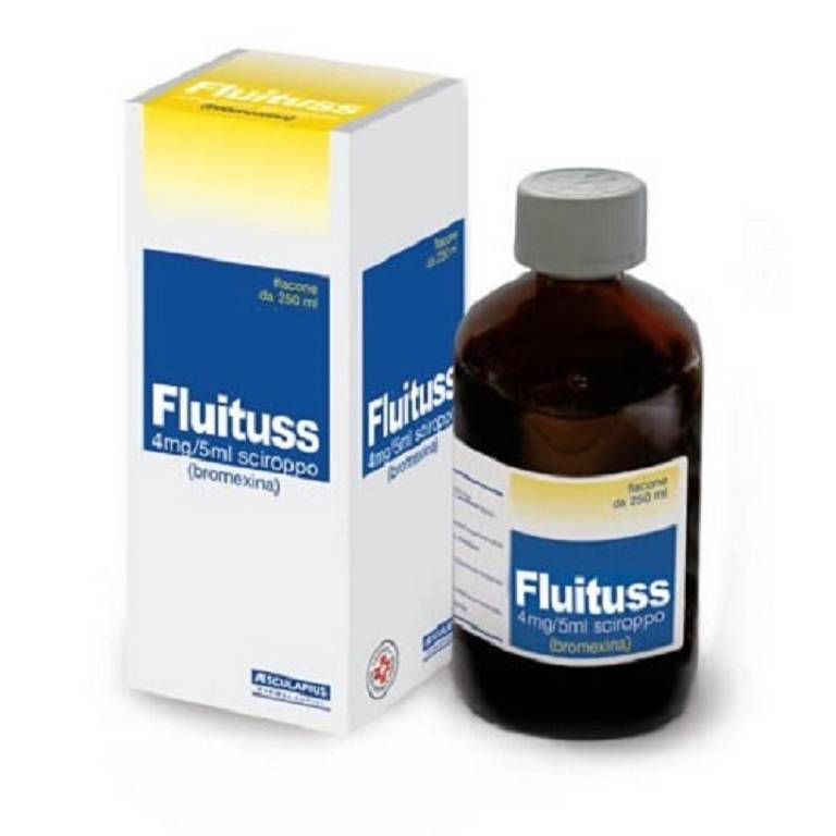 FLUITUSS SCIROPPO 150ML