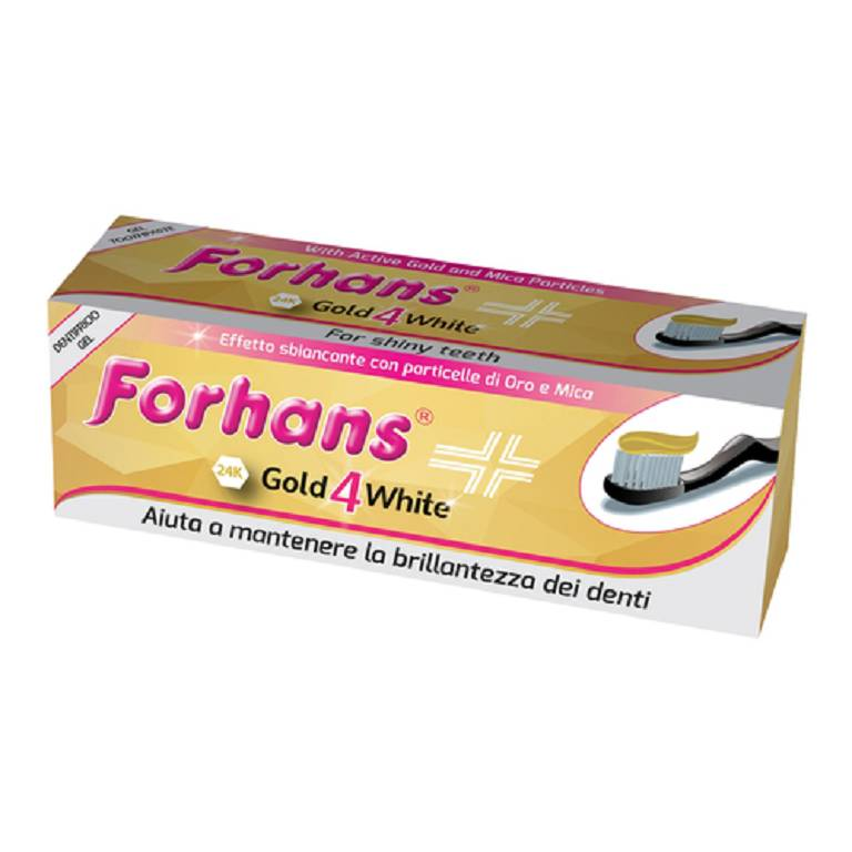 FORHANS GOLD4WHITE DENTIF 75ML