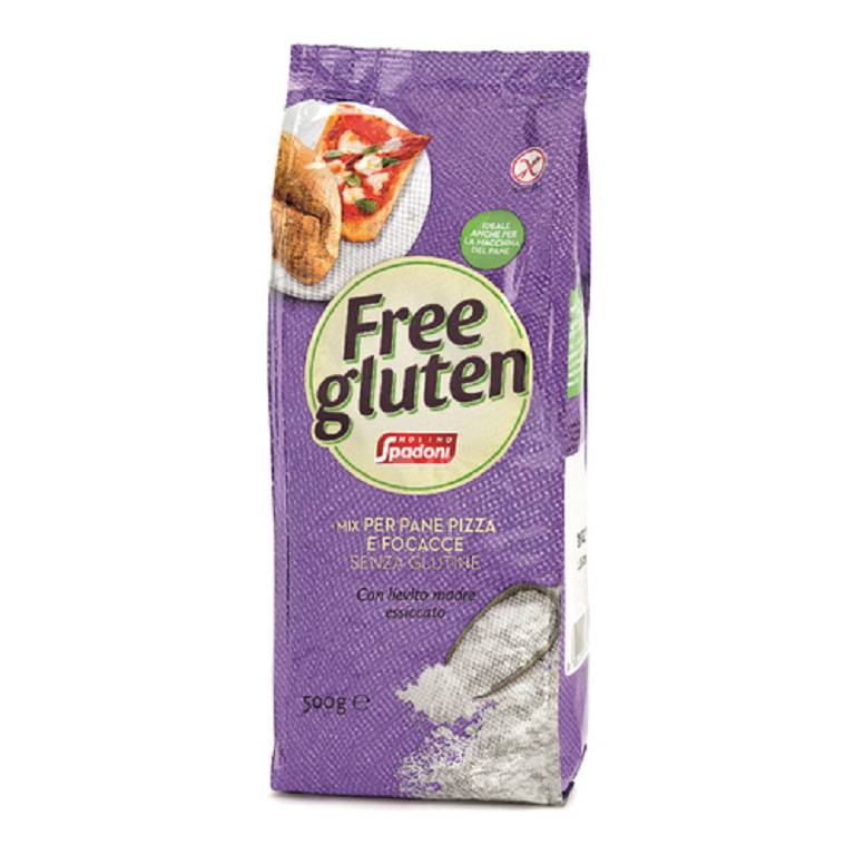 FREEGLUTEN MIX PANE/PIZZA/FOCA