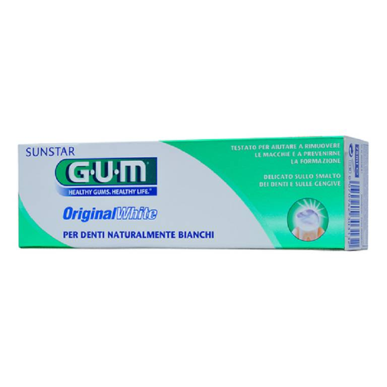 GUM ORIGINAL WHITE DENTIF 75ML
