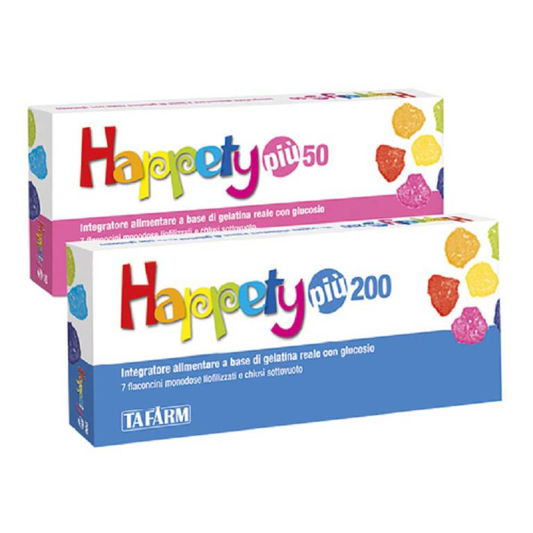 HAPPETY PIU 50 7FL 50MG