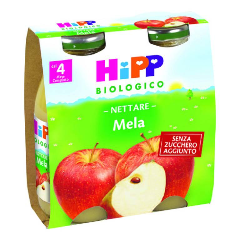 HIPP BIOLOGICO NETTARE Mela 2x200 ml