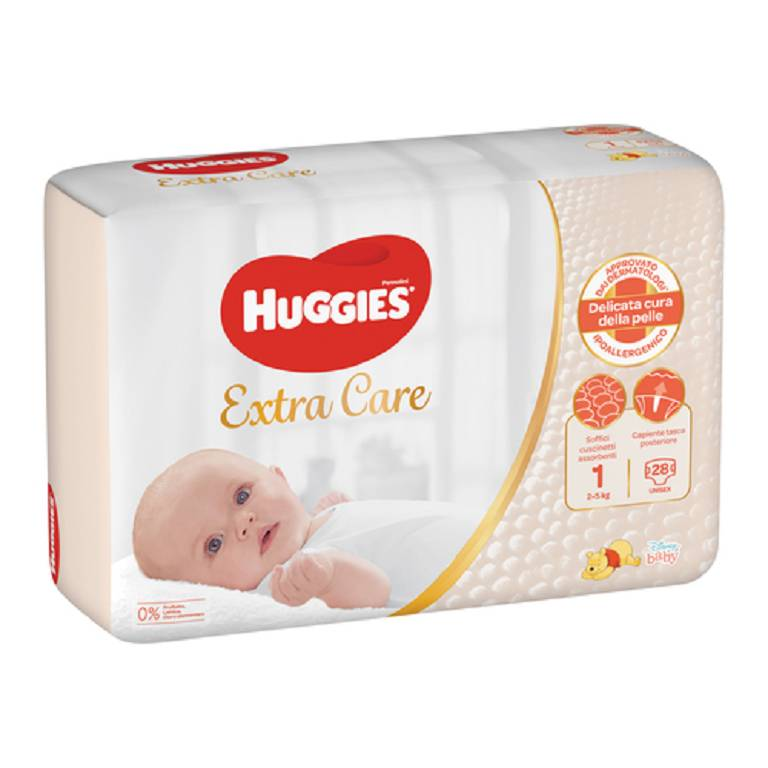 HUGGIES BEBE' BASE 1 28PZ