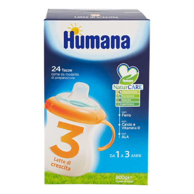 HUMANA 3 JUNIOR DRINK POLVERE