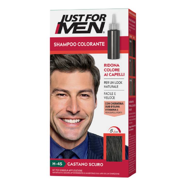 JUST FOR MEN Tintura Castano Scuro 30 ml