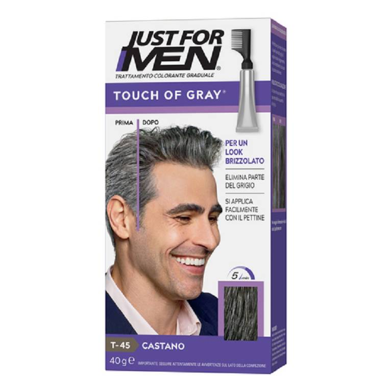 JUST FOR MEN TOUCH OF GRAY CAS