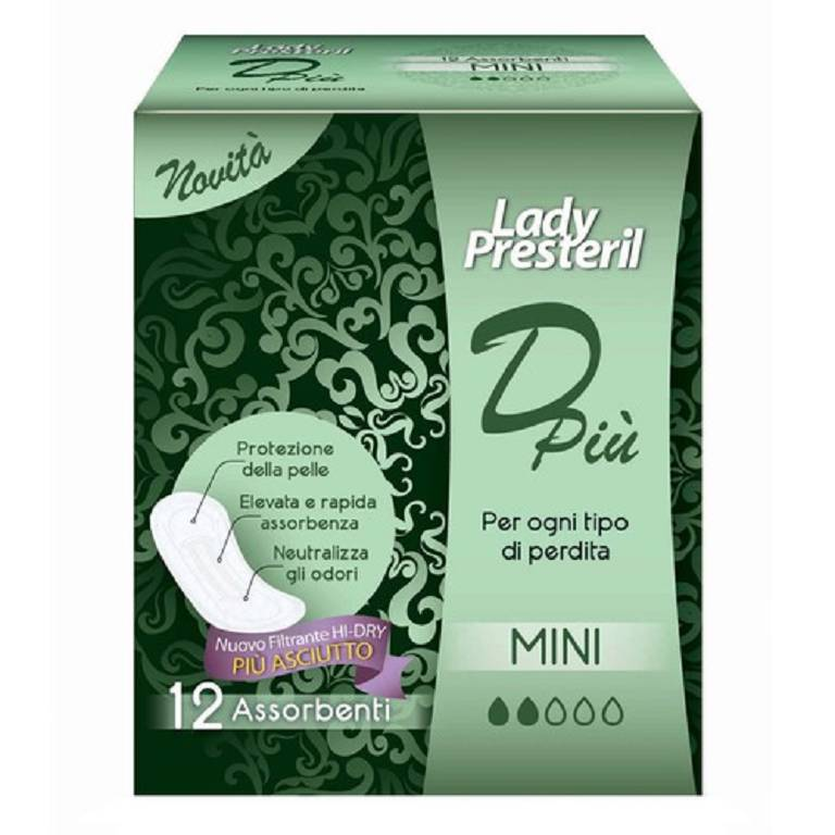 LADY PRESTERIL DPIU' MINI 12PZ