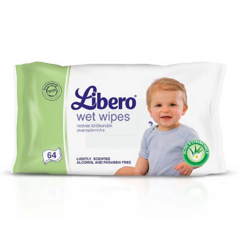 LIBERO WET WIPES 64PZ 4411