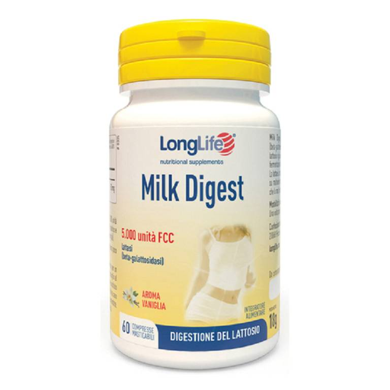 LONGLIFE MILK DIGEST 60CPS