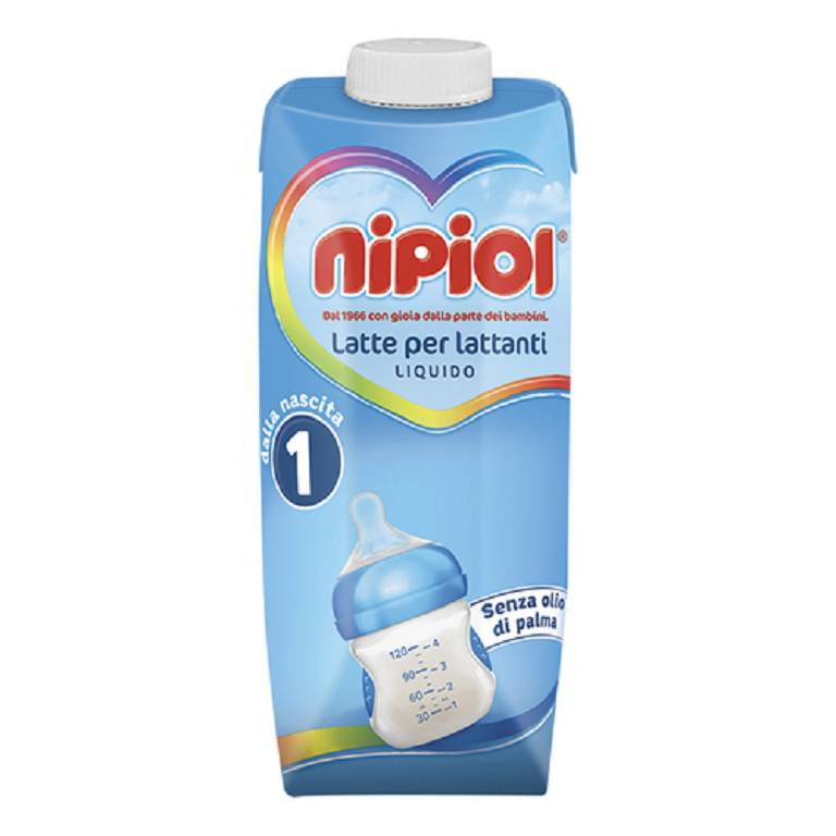 NIPIOL 1 LATTE LIQUIDO 500ML