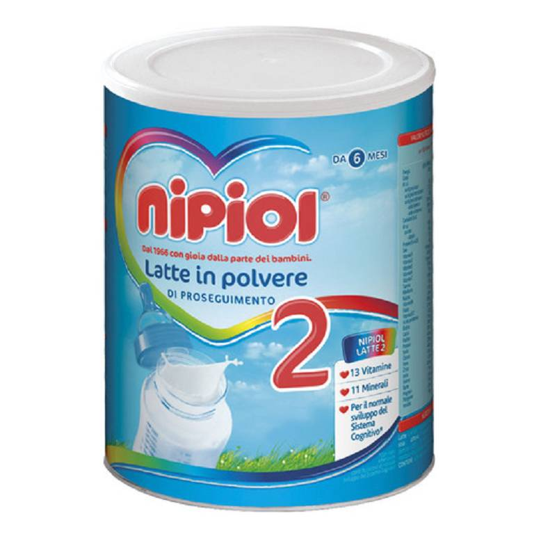 NIPIOL 2 LATTE NEW POLV 800G