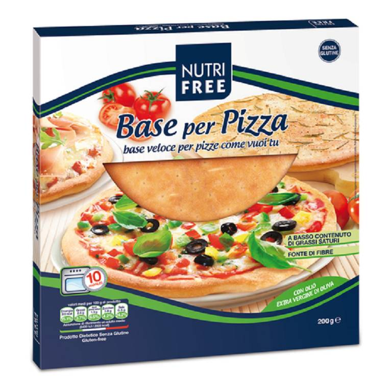NUTRIFREE BASE PER PIZZA 200G