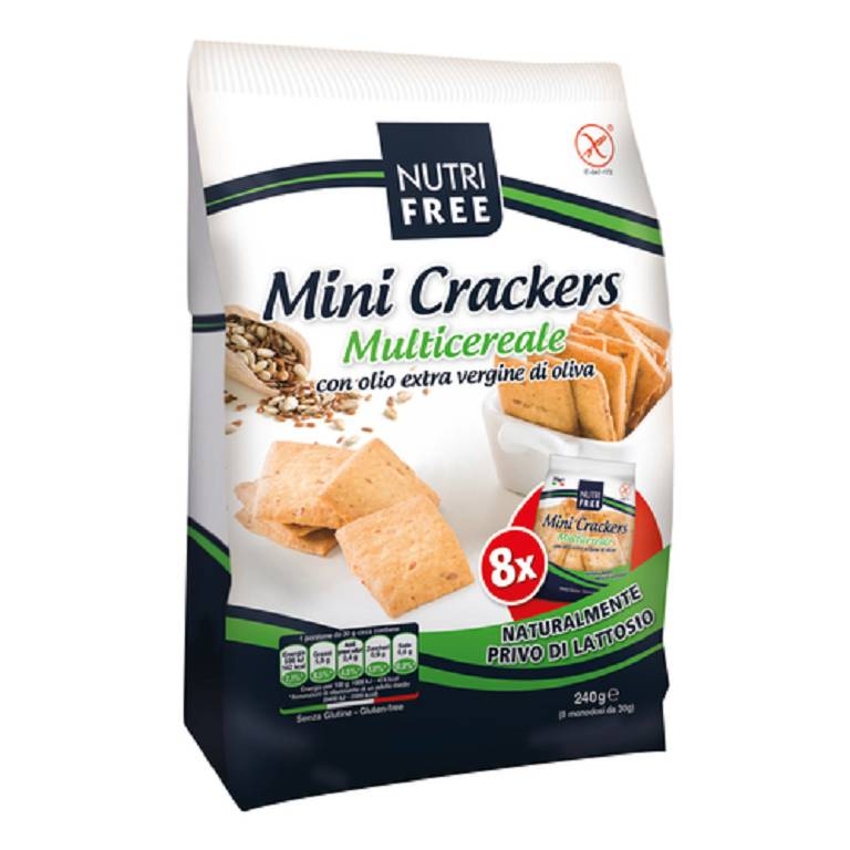 NUTRIFREE MINI CRACKERS MULTIC