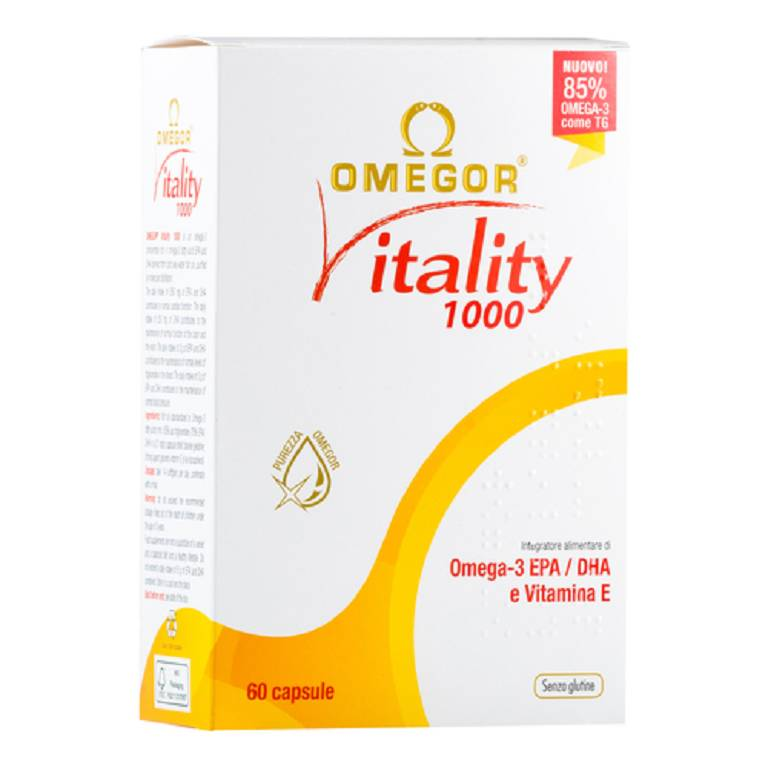 OMEGOR VITALITY 1000 60CPS MOL