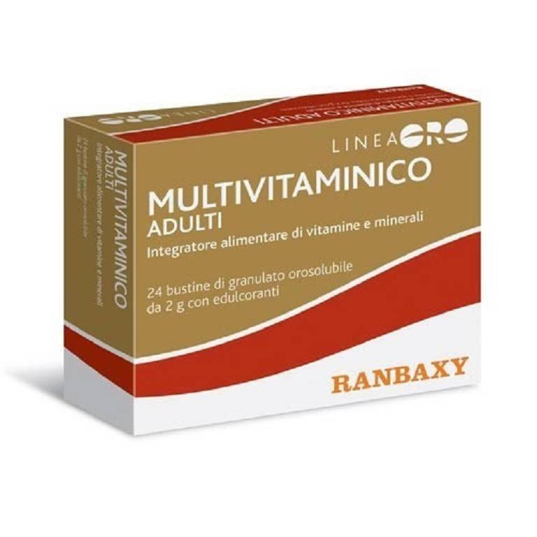 ORO Ranbaxy Multivitaminico Adulti 24x2 g