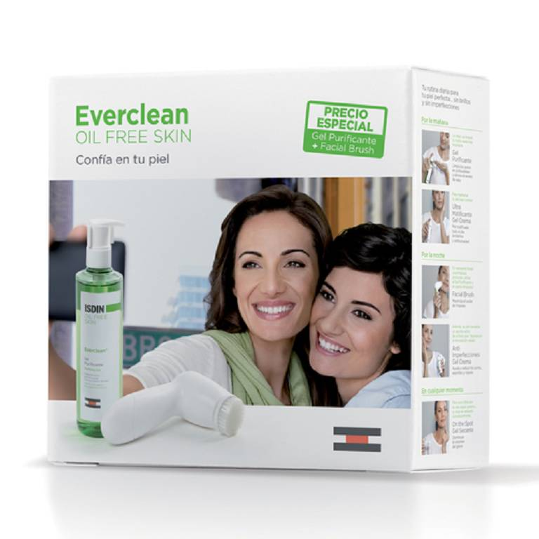 PACK EVERCLEAN GEL DET+BRUSH