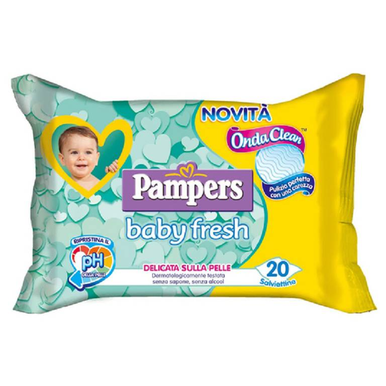 PAMPERS BABY FRESH 30%+ CONS20
