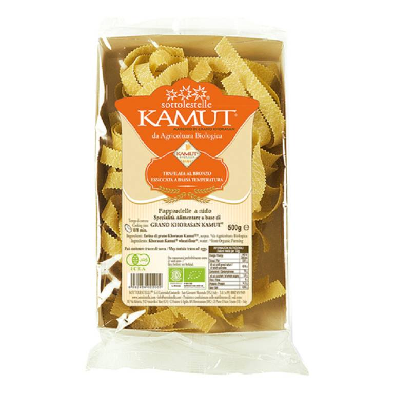 PAPPARDELLE KAMUT NIDO 250G