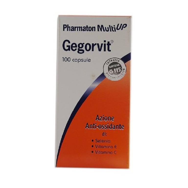 PH MULTIUP Gegorvit 100 capsule