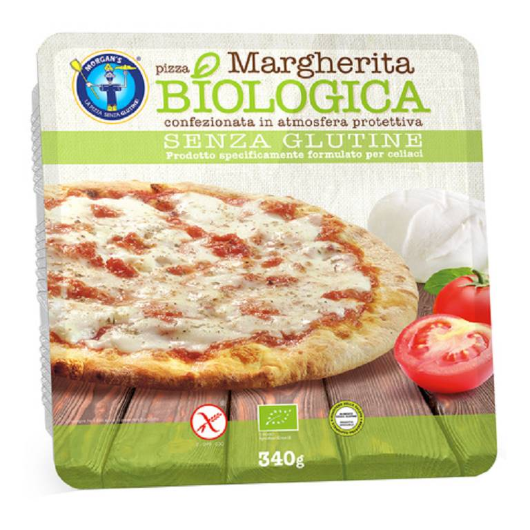 PIZZA MARGHERITA BIOLOGICA340G