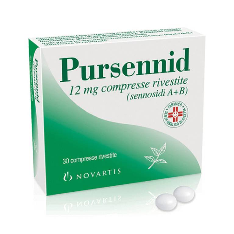 PURSENNID*30CPR RIV 12MG