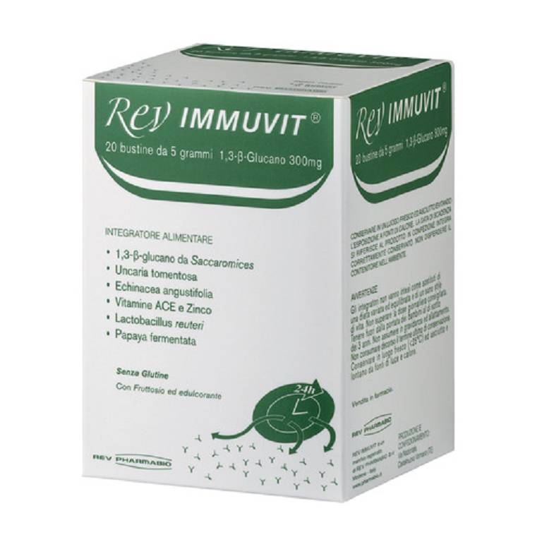 REV IMMUVIT INTEGRAT 20BUST