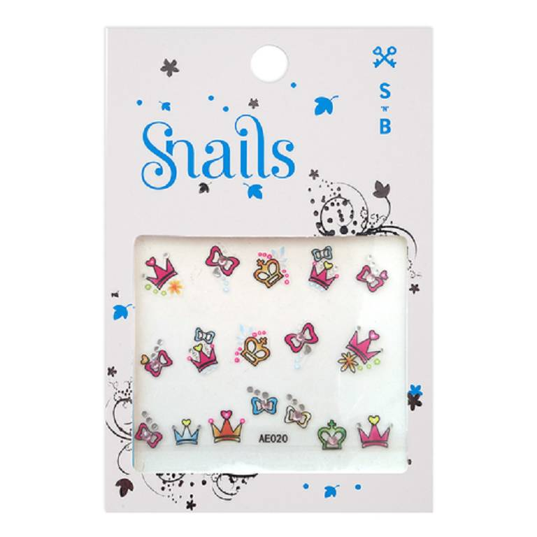 SNAILS NAIL STICKERS PERF PRIN