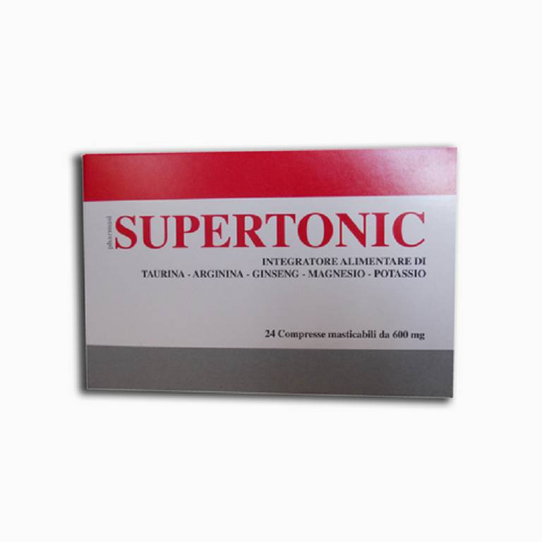SUPERTONIC 24CPR 600MG
