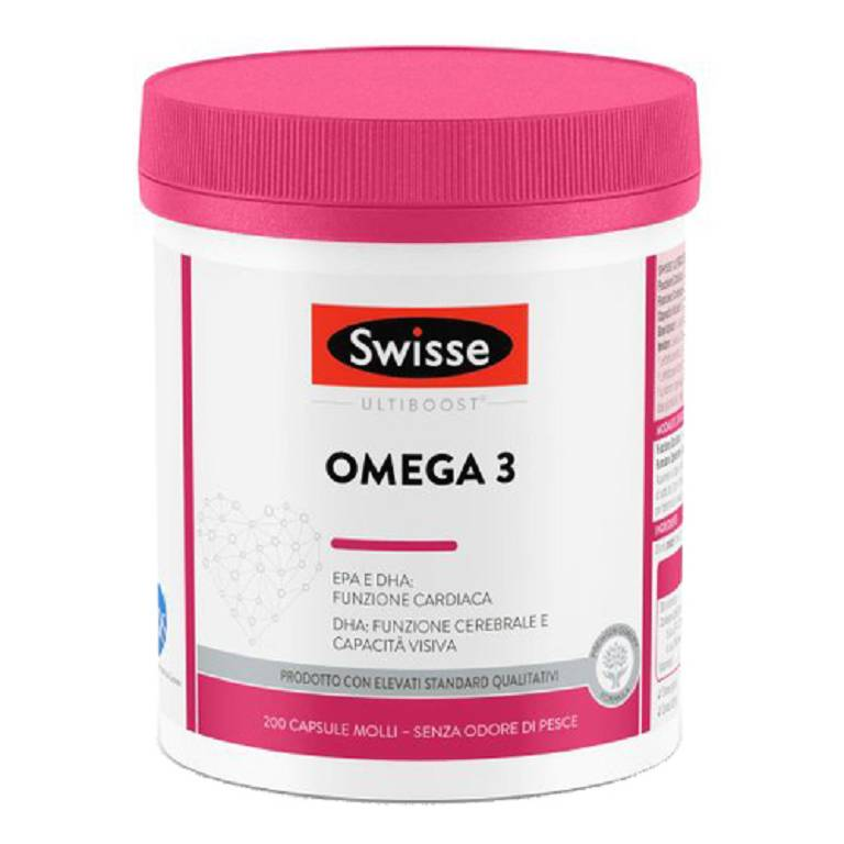 SWISSE OMEGA3 1500MG 200CPS