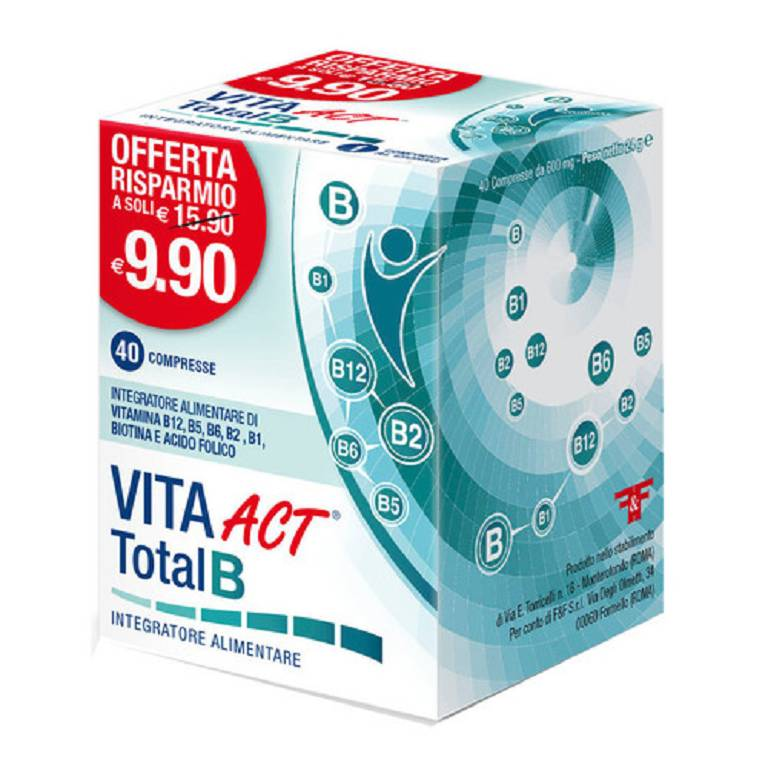 VITA ACT TOTAL B 40CPR