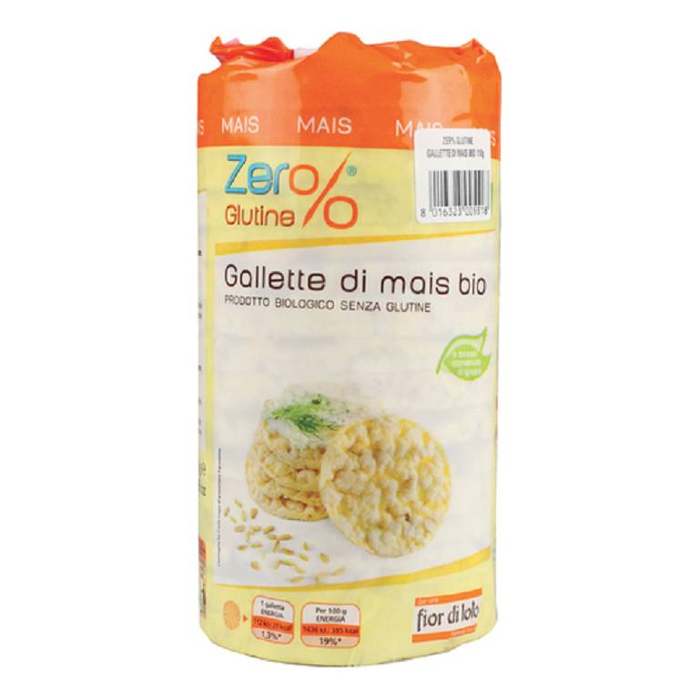 ZERO% G GALLETTE MAIS BIO 100G